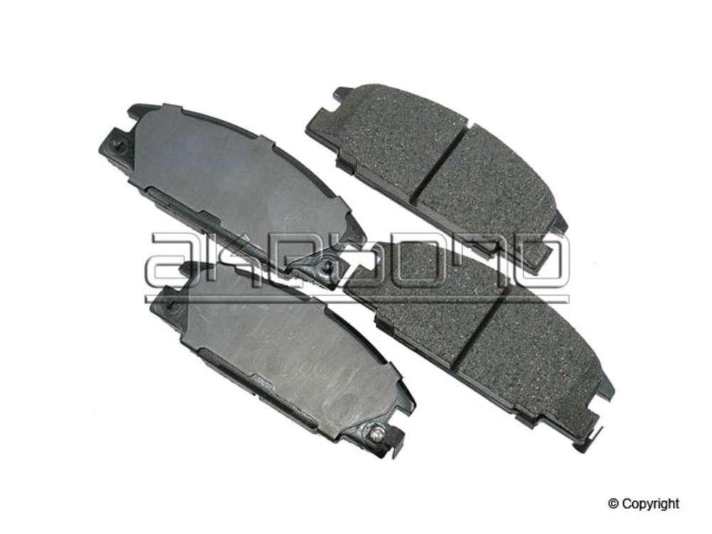 Akebono - Akebono ProACT Disc Brake Pad Set (Front) - IMM ACT363