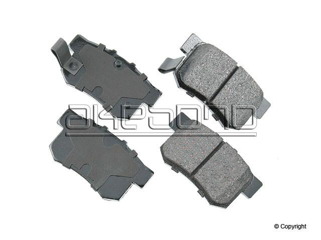Akebono ProACT - Akebono ProACT Disc Brake Pad - WDX 520 05370 091