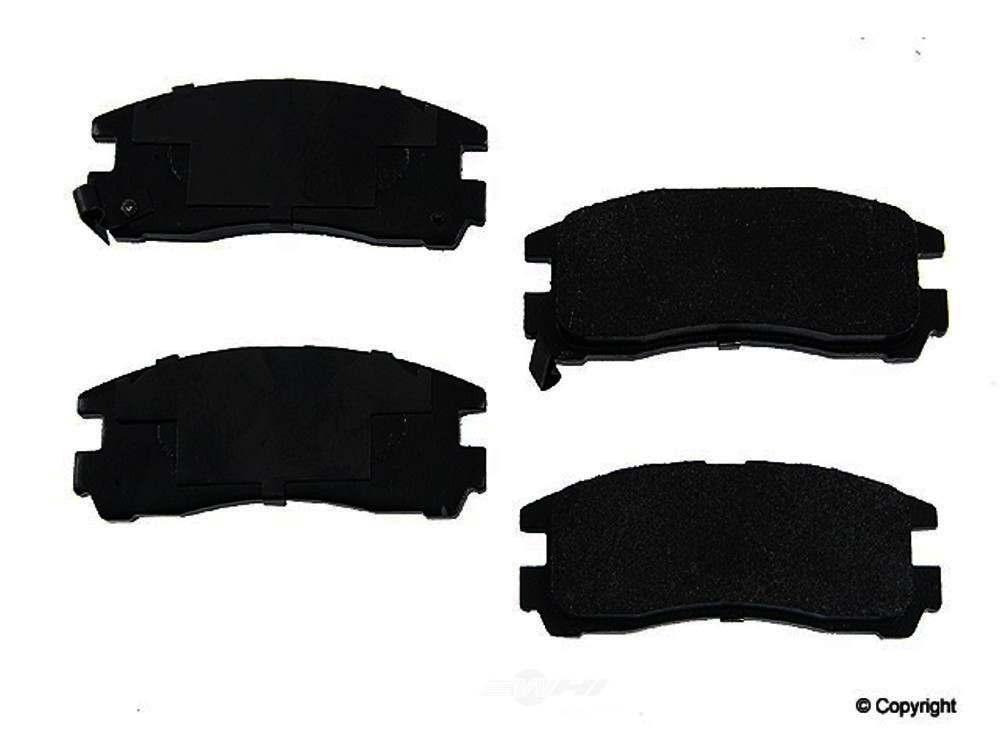 Original -  Performance Semi-Met Disc Brake Pad Set - WDX 520 03830 507