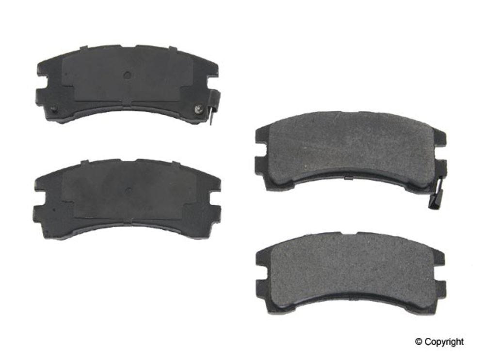 Original -  Performance Ceramic Disc Brake Pad Set (Rear) - WDX 520 04010 508