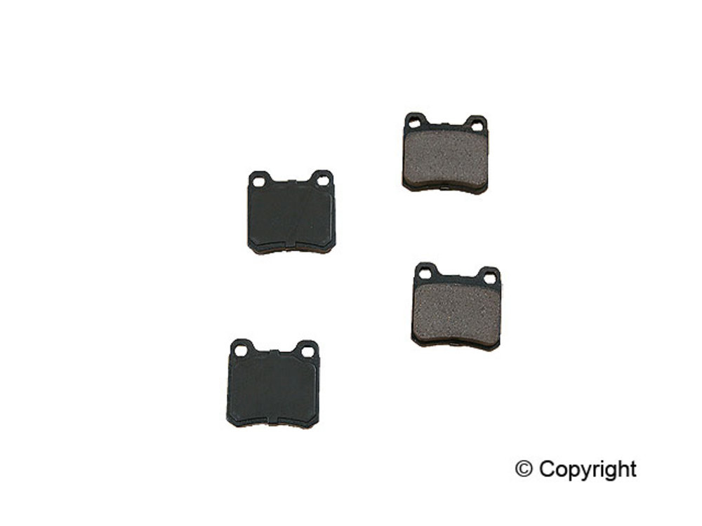 Original -  Performance Ceramic Disc Brake Pad Set (Rear) - WDX 520 04260 508