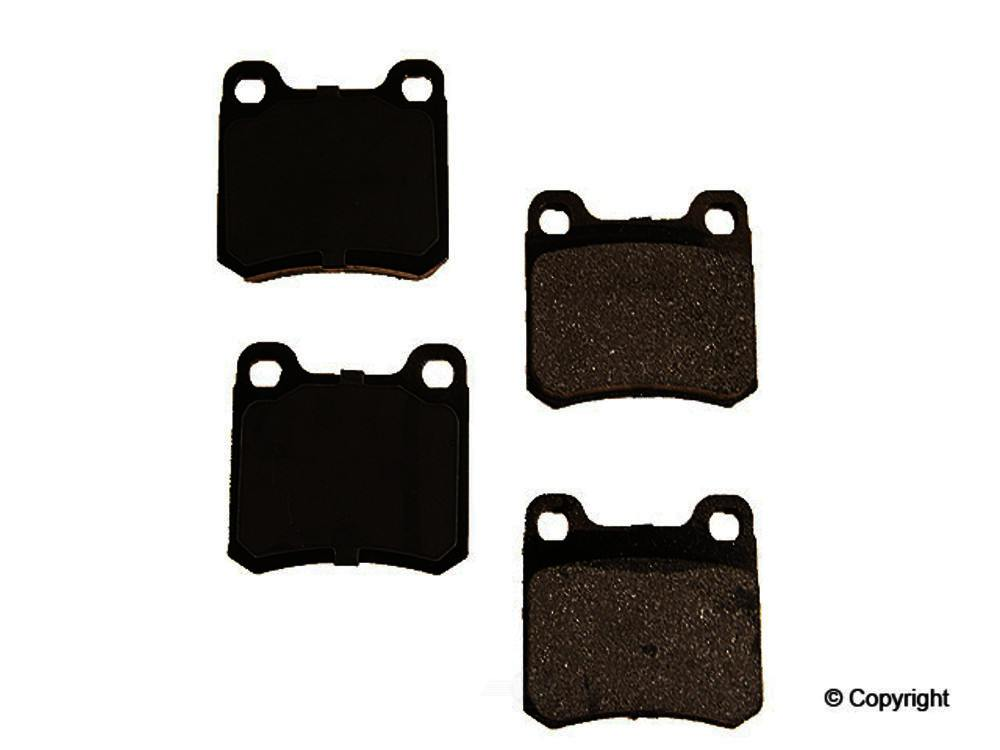 Original -  Performance Semi-Met Disc Brake Pad Set - WDX 520 04260 507