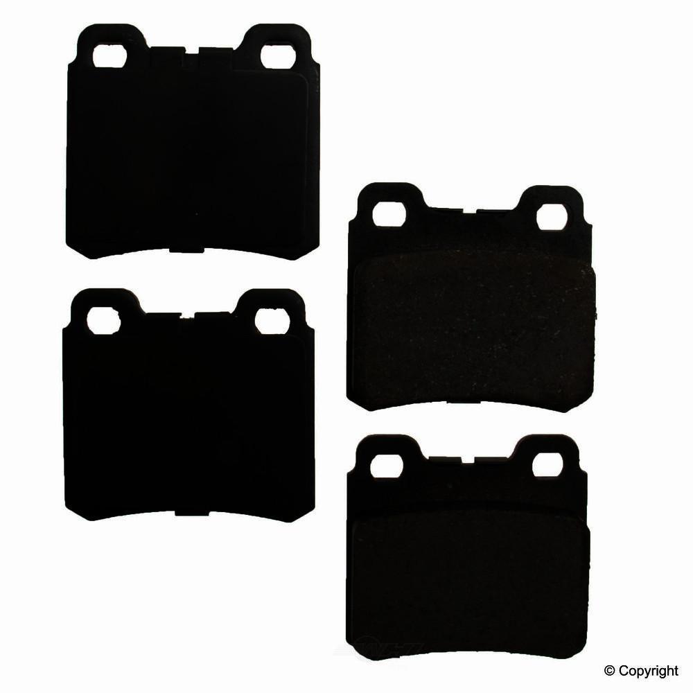 Original -  Performance Ceramic Disc Brake Pad Set - WDX 520 04270 508