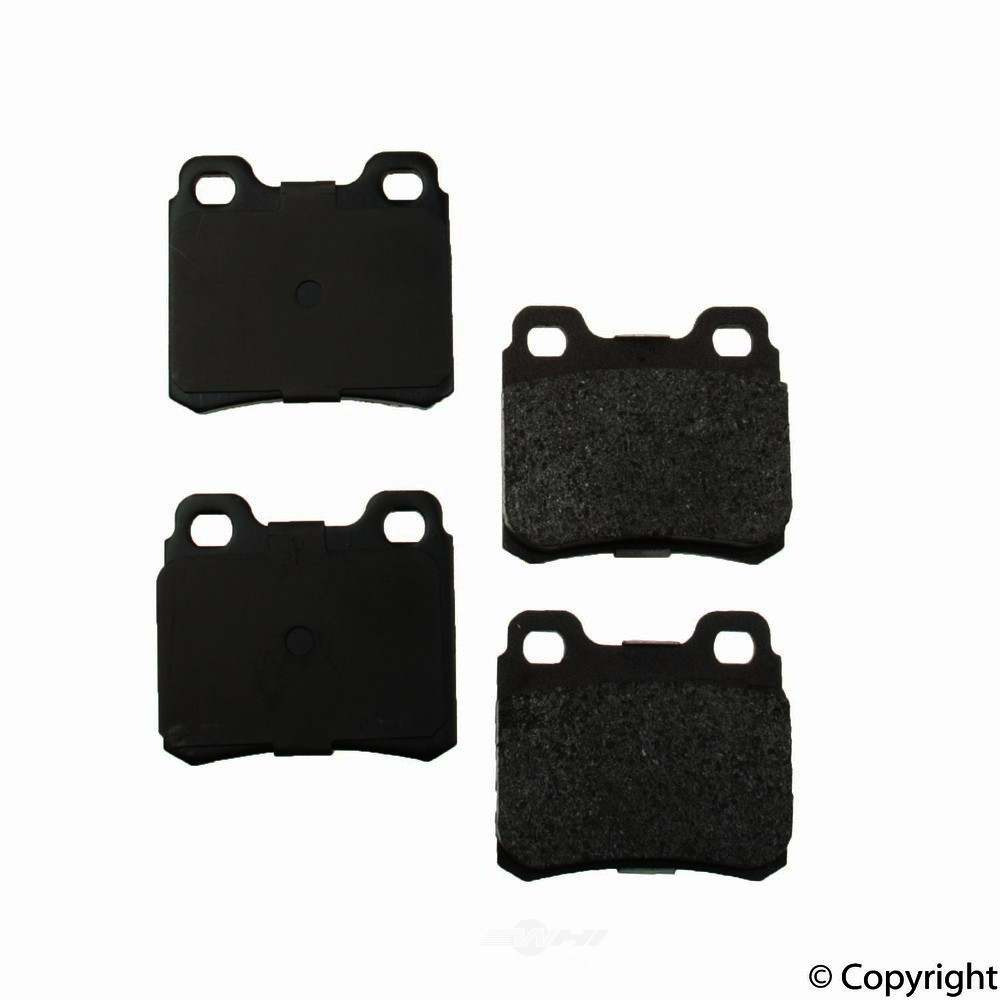 Original -  Performance Semi-Met Disc Brake Pad Set - WDX 520 04270 507