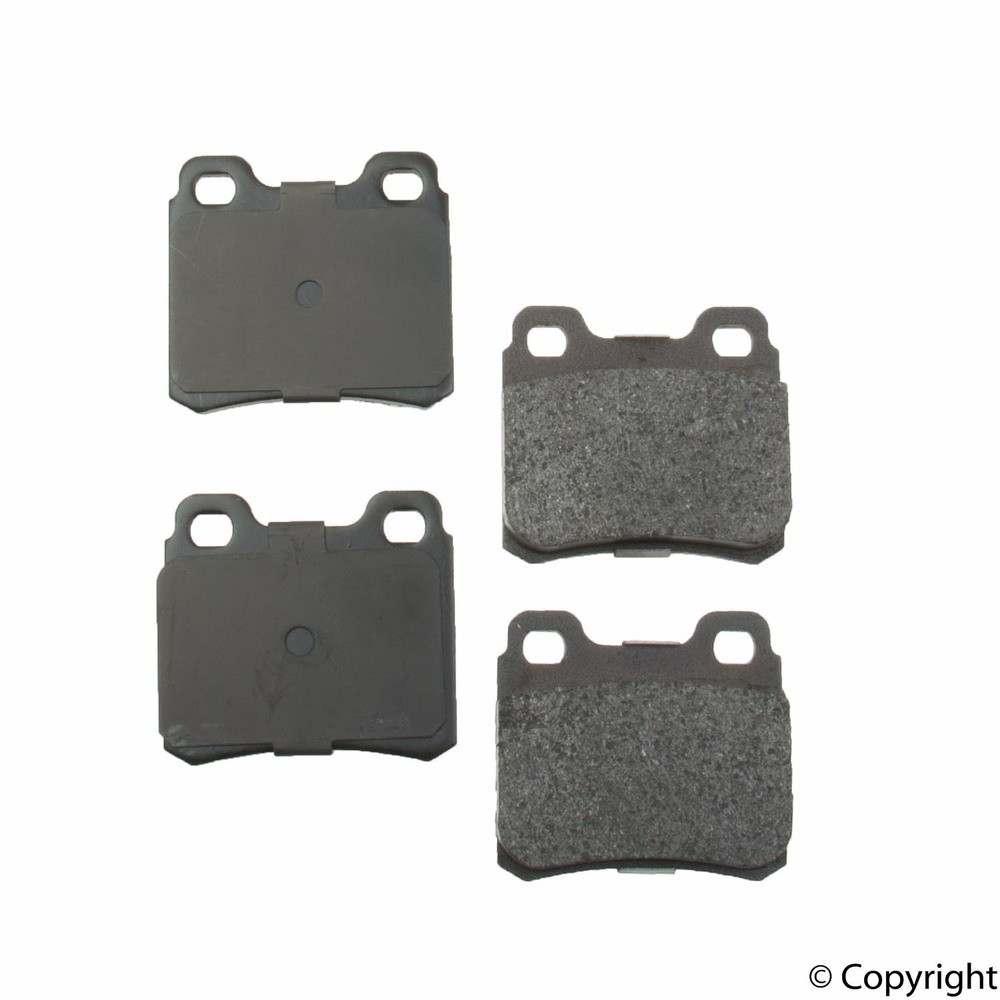 Original -  Performance Semi-Met Disc Brake Pad Set (Rear) - WDX 520 04270 507