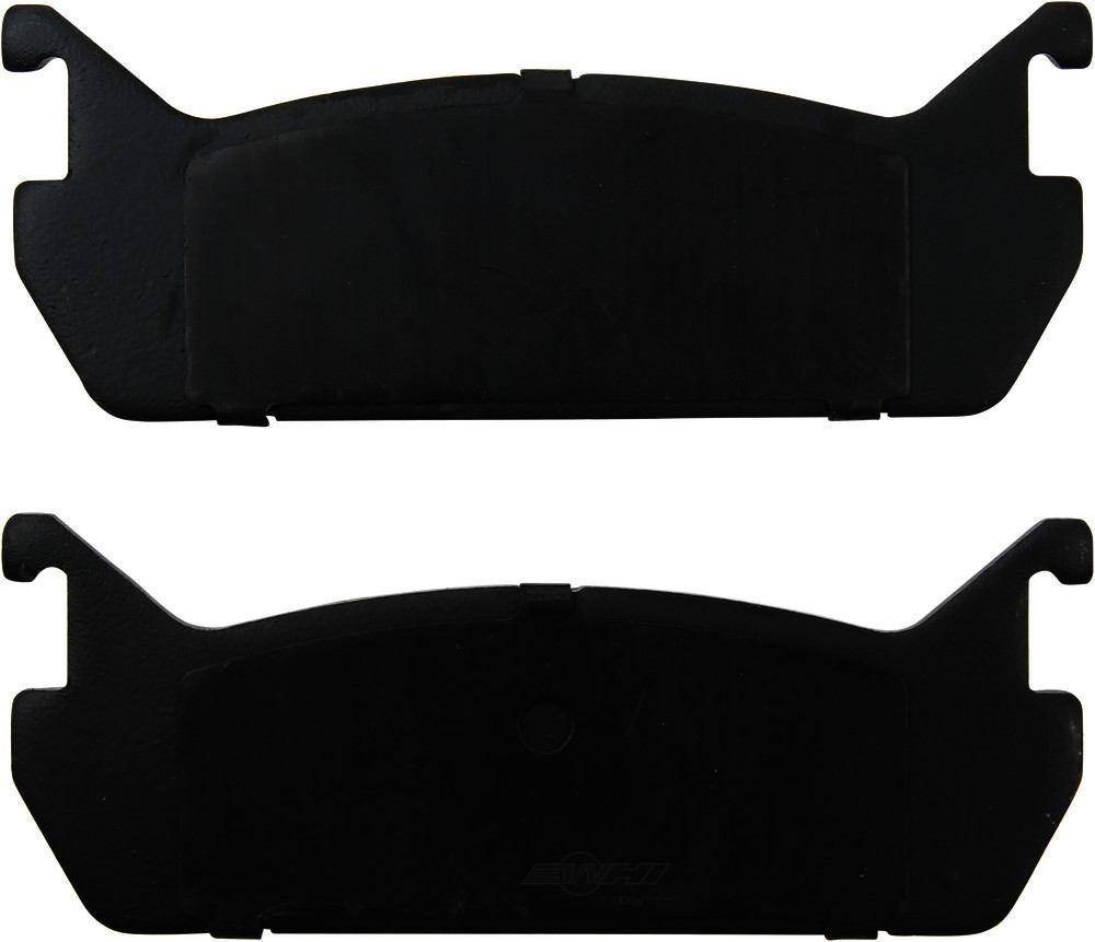 Original -  Performance Semi-Met Disc Brake Pad Set - WDX 520 04580 507