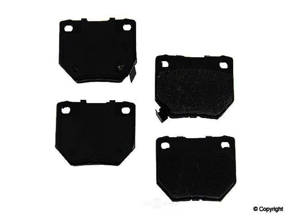 Original -  Performance Semi-Met Disc Brake Pad Set - WDX 520 04610 507