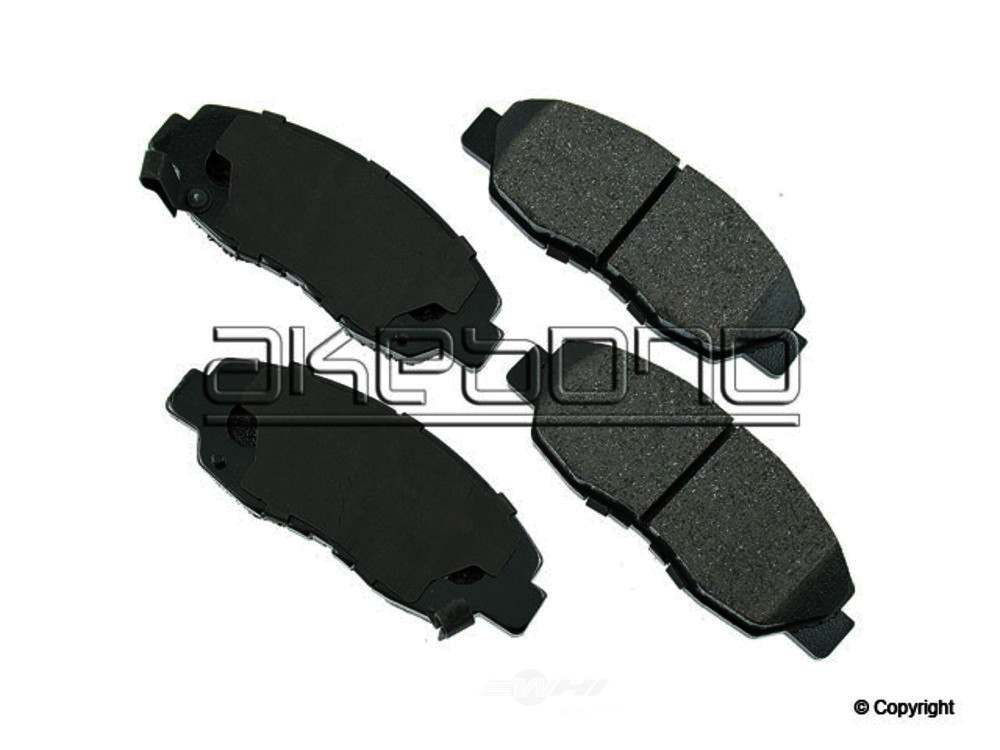 Akebono -  ProACT Disc Brake Pad Set - WDX 520 04650 091