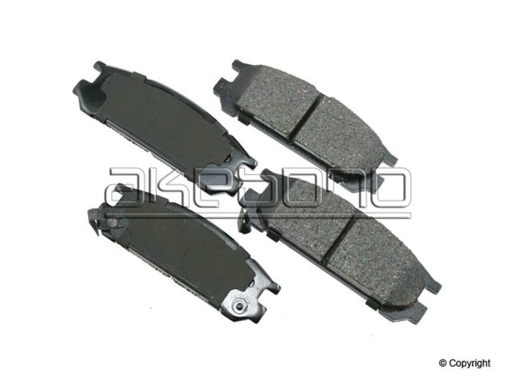 Akebono - Akebono ProACT Disc Brake Pad Set (Rear) - IMM ACT471