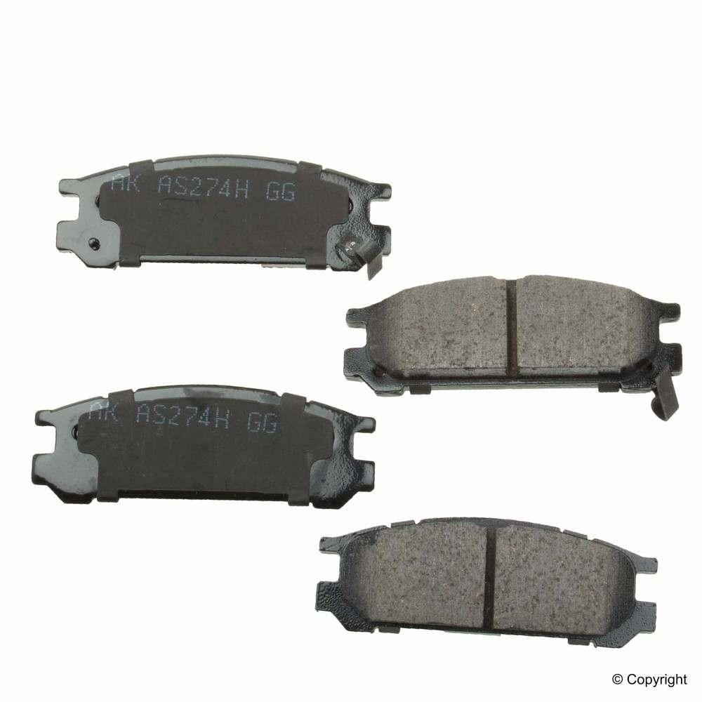 Akebono - Akebono ISD Disc Brake Pad Set (Rear) - IMM ISD471