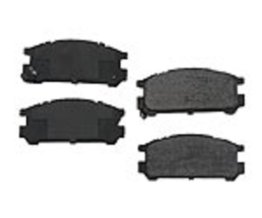 Original - Original Performance Ceramic Disc Brake Pad Set (Rear) - WDX 520 04710 508