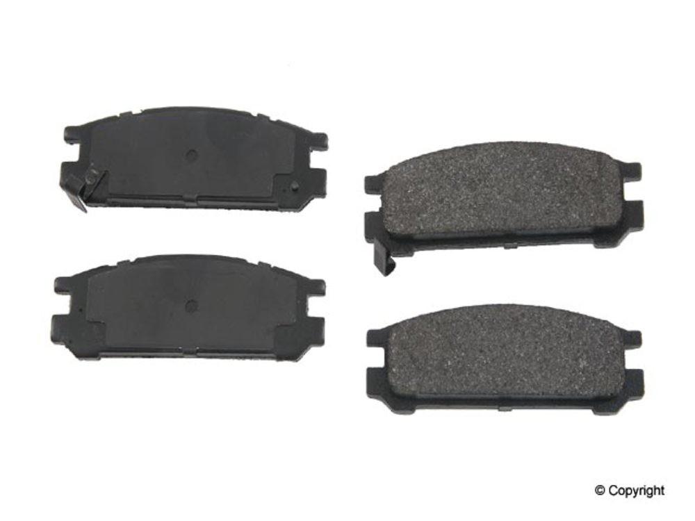 Original -  Performance Semi-Met Disc Brake Pad Set (Rear) - WDX 520 04710 507