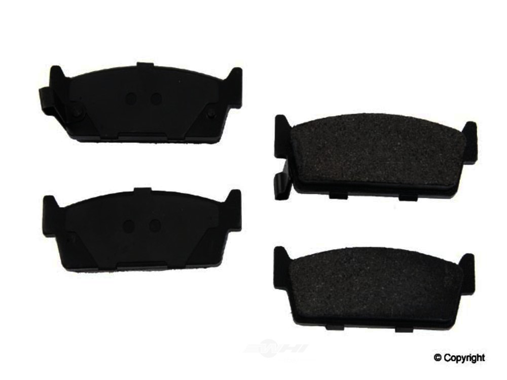 Original -  Performance Semi-Met Disc Brake Pad Set - WDX 520 04790 507