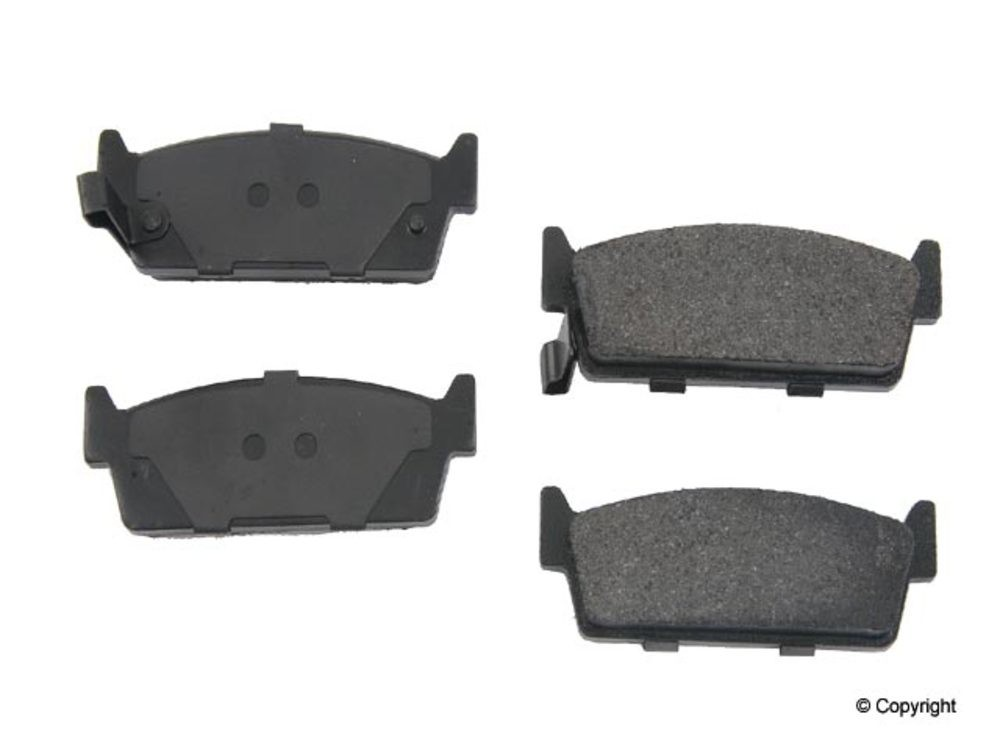 WD EXPRESS - Original Performance Semi-Met Disc Brake Pad Set (Rear) - WDX 520 04790 507