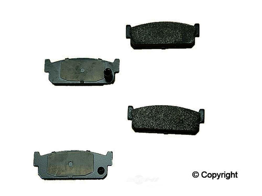 Original -  Performance Semi-Met Disc Brake Pad Set - WDX 520 04810 507