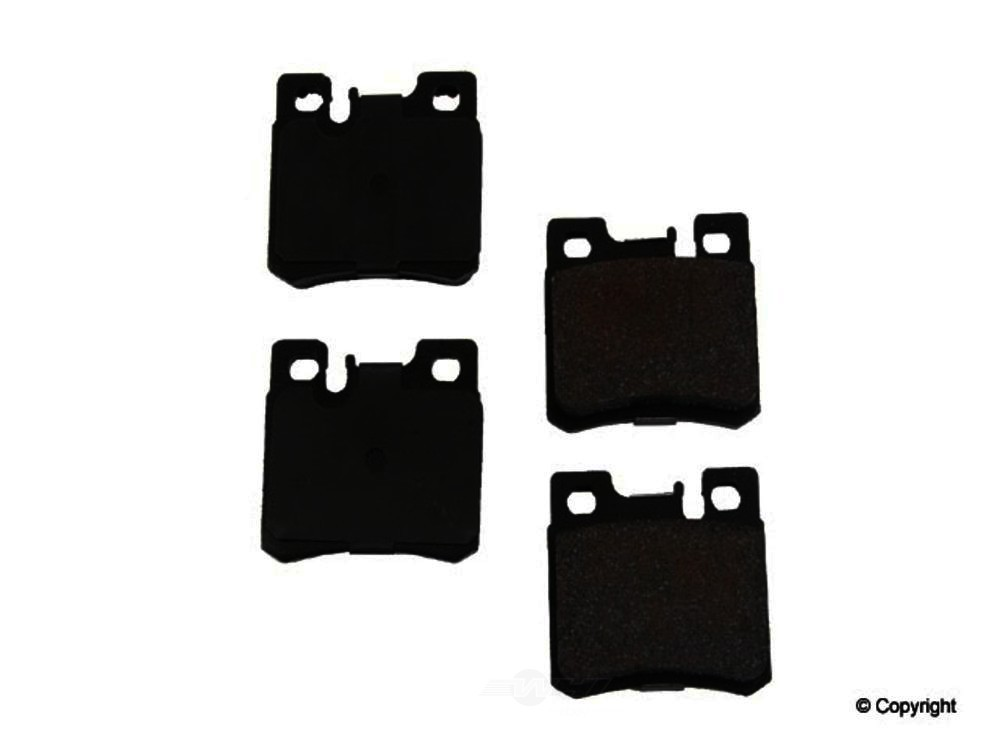 Original -  Performance Semi-Met Disc Brake Pad Set - WDX 520 04950 507