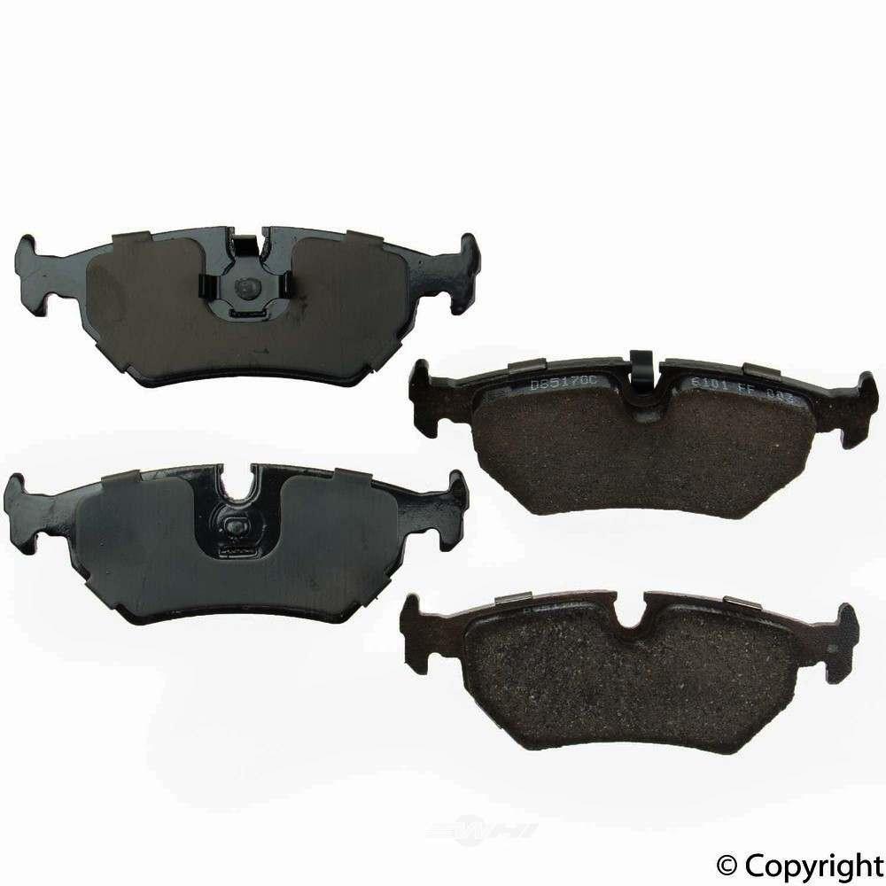 Original -  Performance Ceramic Disc Brake Pad Set - WDX 520 05170 508