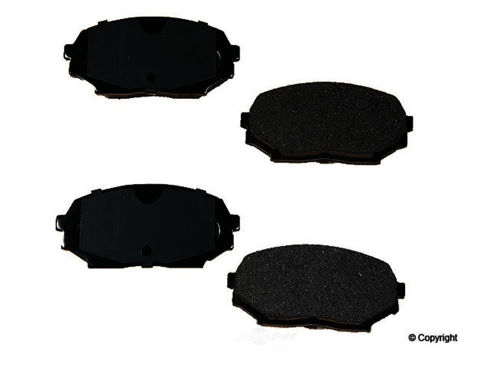Original -  Performance Semi-Met Disc Brake Pad Set - WDX 520 05250 507