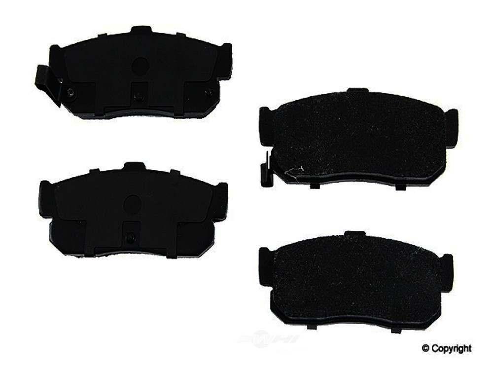 Original -  Performance Semi-Met Disc Brake Pad Set - WDX 520 05400 507