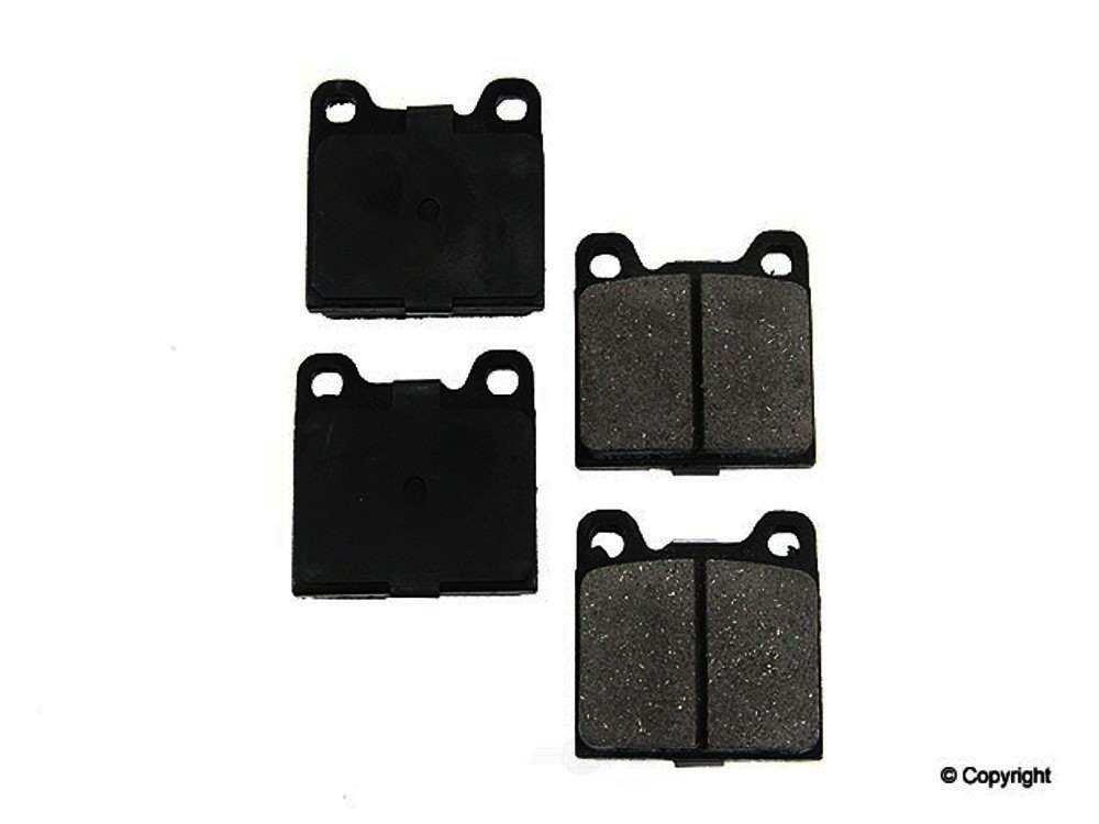 Original -  Performance Ceramic Disc Brake Pad Set - WDX 520 05410 508
