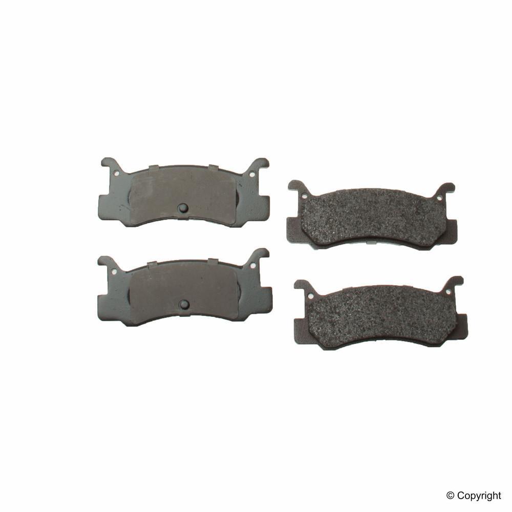 WD EXPRESS - Original Performance Semi-Met Disc Brake Pad Set (Rear) - WDX 520 05730 507