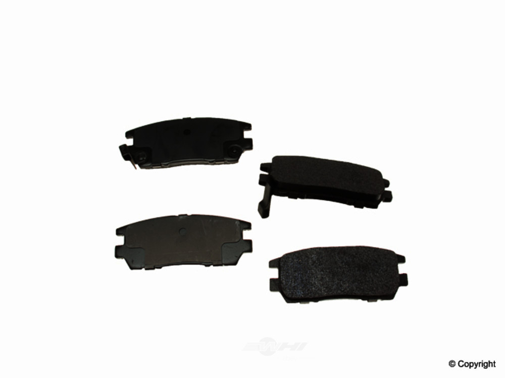 Original -  Performance Semi-Met Disc Brake Pad Set - WDX 520 05670 507
