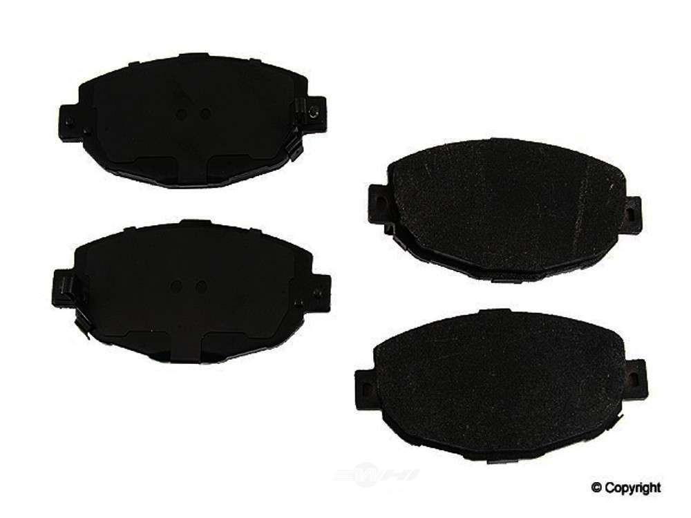Original -  Performance Semi-Met Disc Brake Pad Set (Front) - WDX 520 05710 507