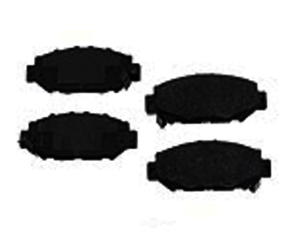 Original -  Performance Semi-Met Disc Brake Pad Set (Rear) - WDX 520 05720 507