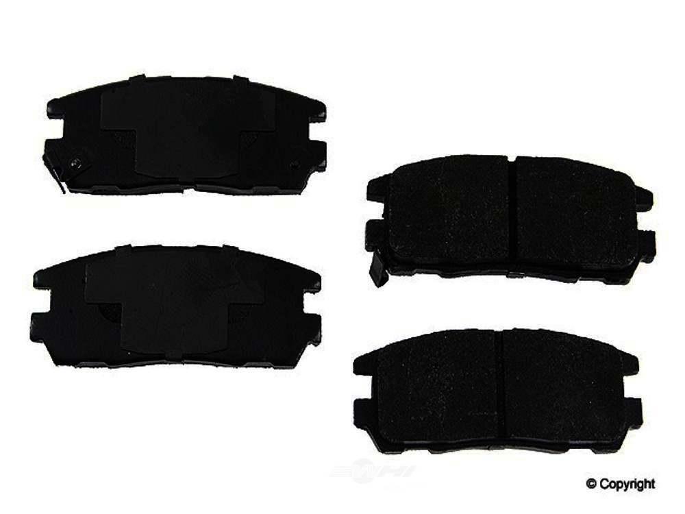 Original -  Performance Semi-Met Disc Brake Pad Set - WDX 520 05800 507