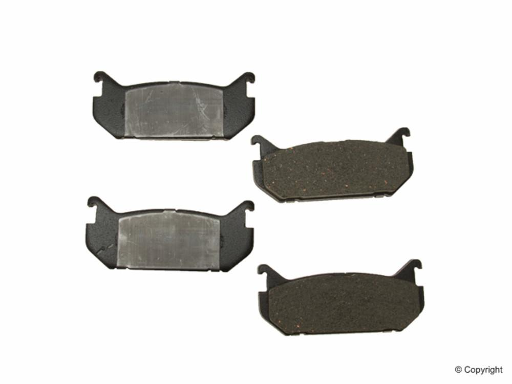 Meyle -  Ceramic Disc Brake Pad Set (Rear) - WDX 520 05840 504