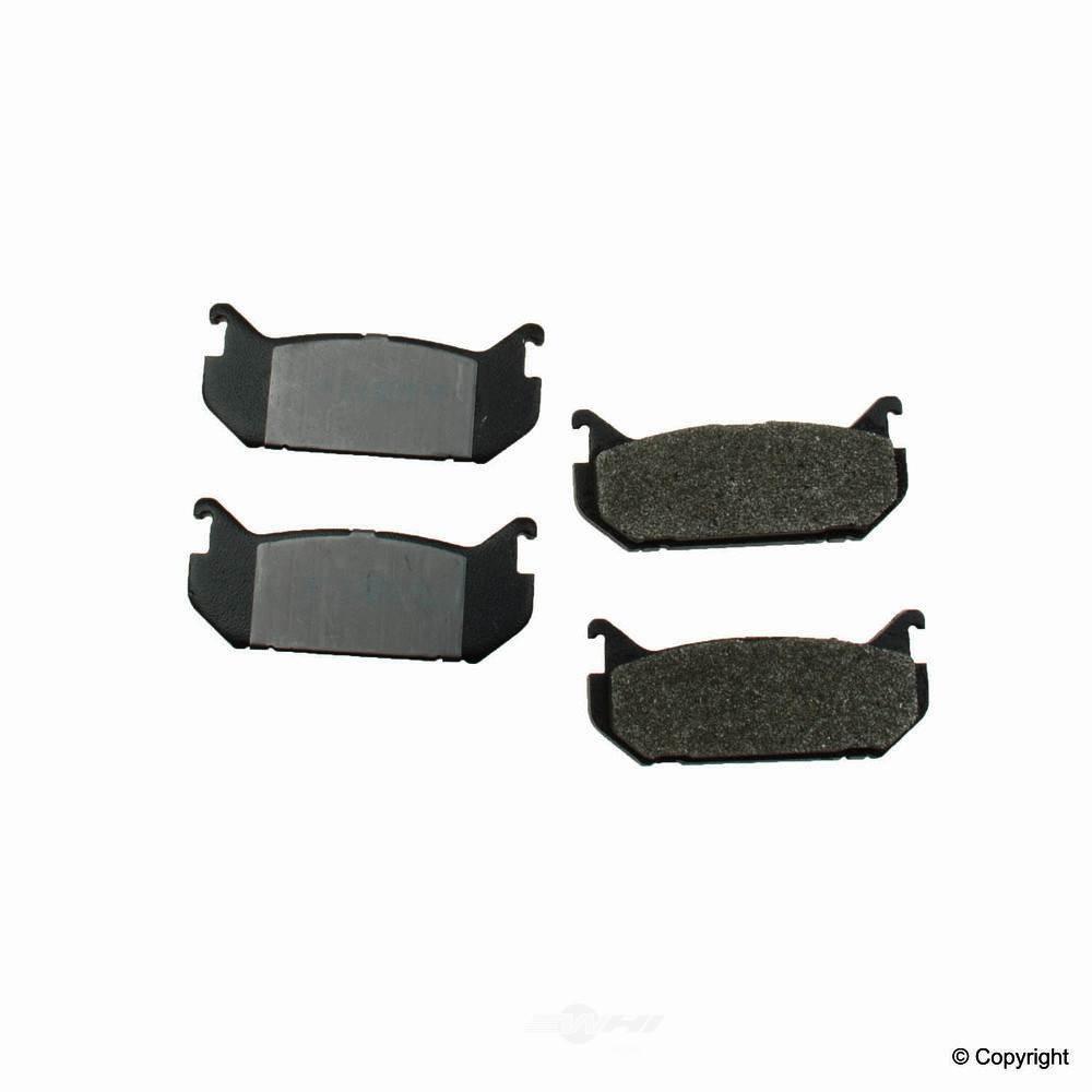Meyle -  Semi Metallic Disc Brake Pad Set - WDX 520 05840 503