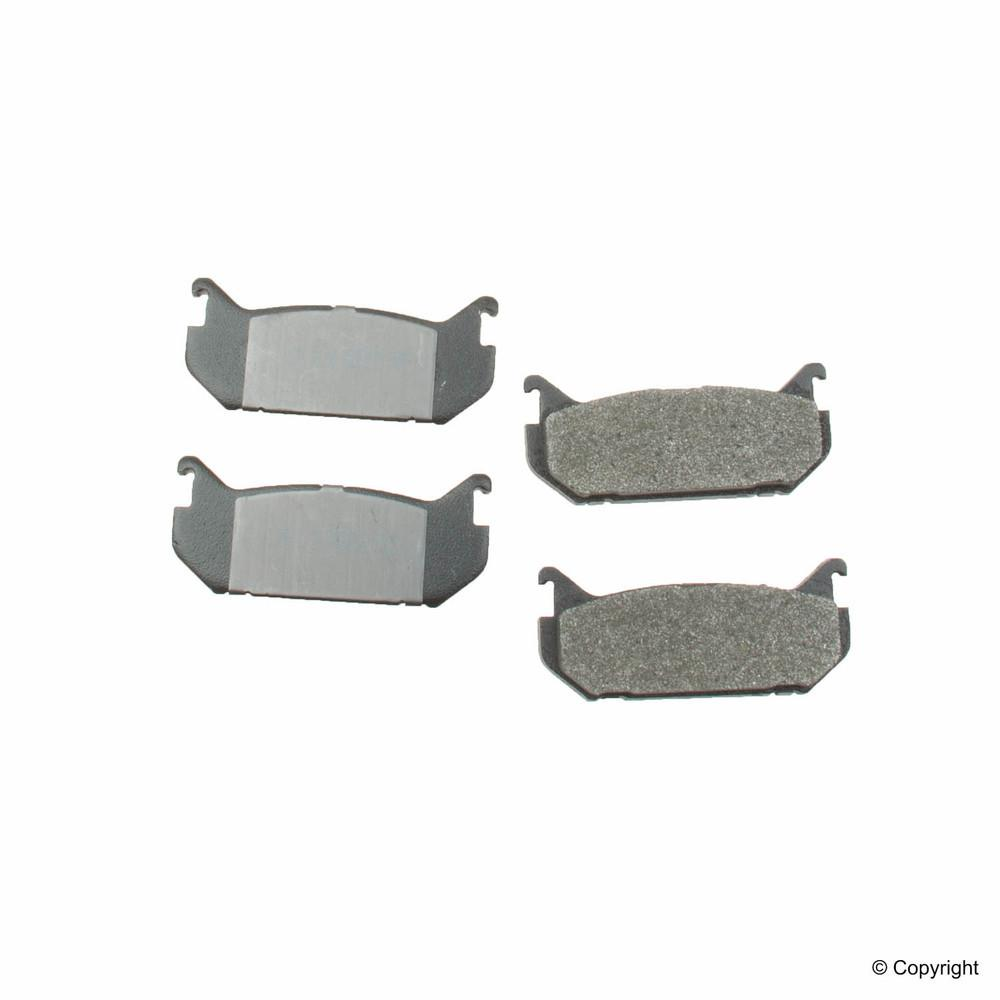 Meyle -  Semi Metallic Disc Brake Pad Set (Rear) - WDX 520 05840 503