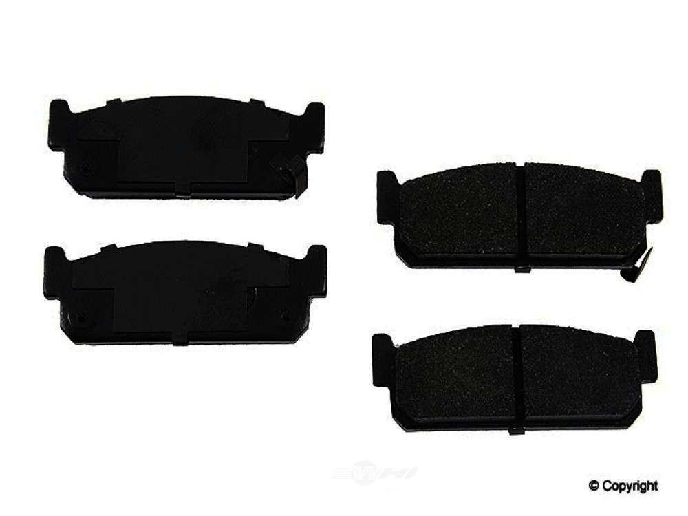 Original -  Performance Semi-Met Disc Brake Pad Set - WDX 520 05880 507