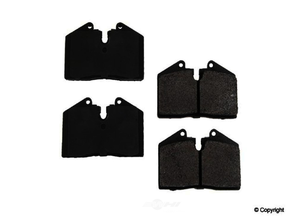 Original -  Performance Semi-Met Disc Brake Pad Set - WDX 520 06080 507
