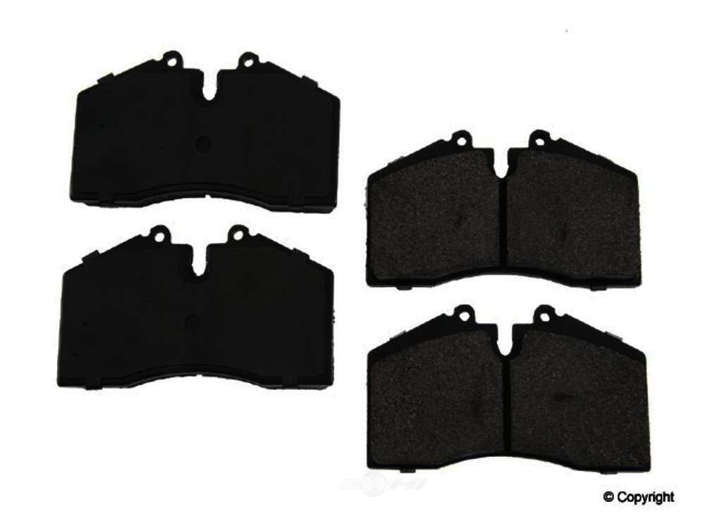 Original -  Performance Semi-Met Disc Brake Pad Set - WDX 520 06090 507