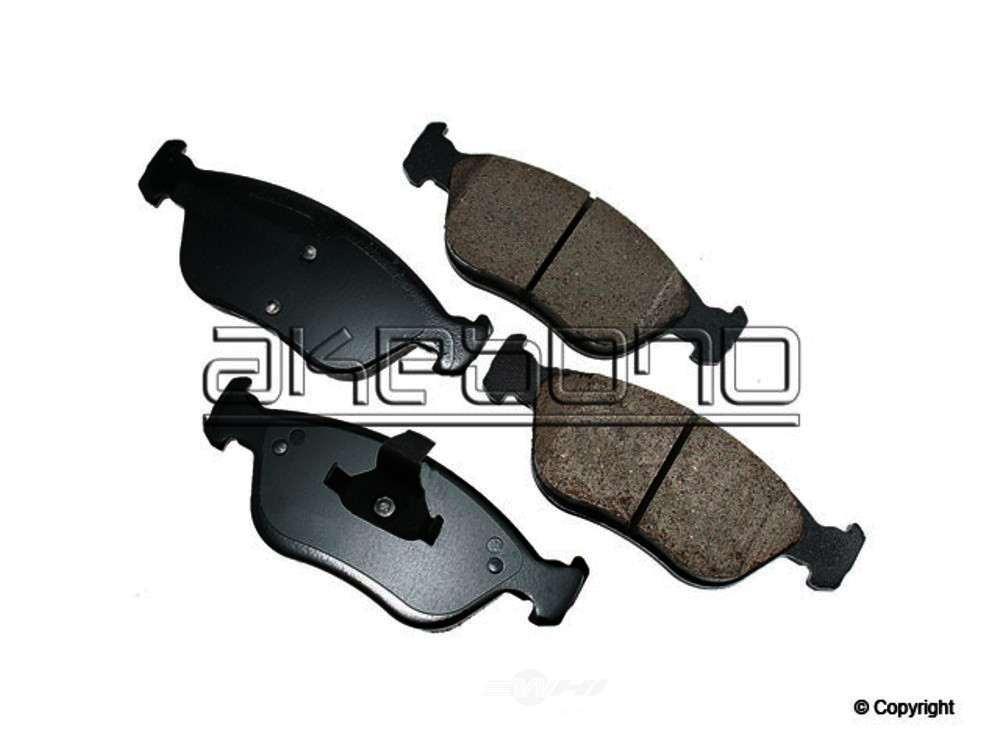 Akebono -  Euro Disc Brake Pad Set (Front) - WDX 520 06181 432