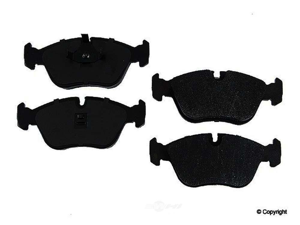 Original -  Performance Semi-Met Disc Brake Pad Set (Front) - WDX 520 06180 507