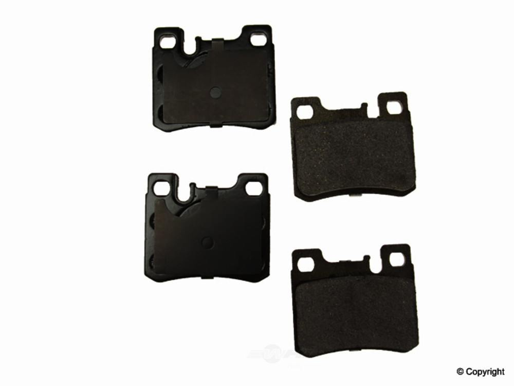 Original -  Performance Ceramic Disc Brake Pad Set - WDX 520 06200 508