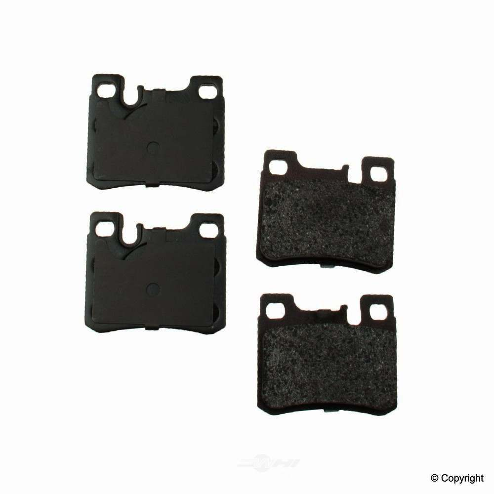 Original -  Performance Semi-Met Disc Brake Pad Set - WDX 520 06200 507
