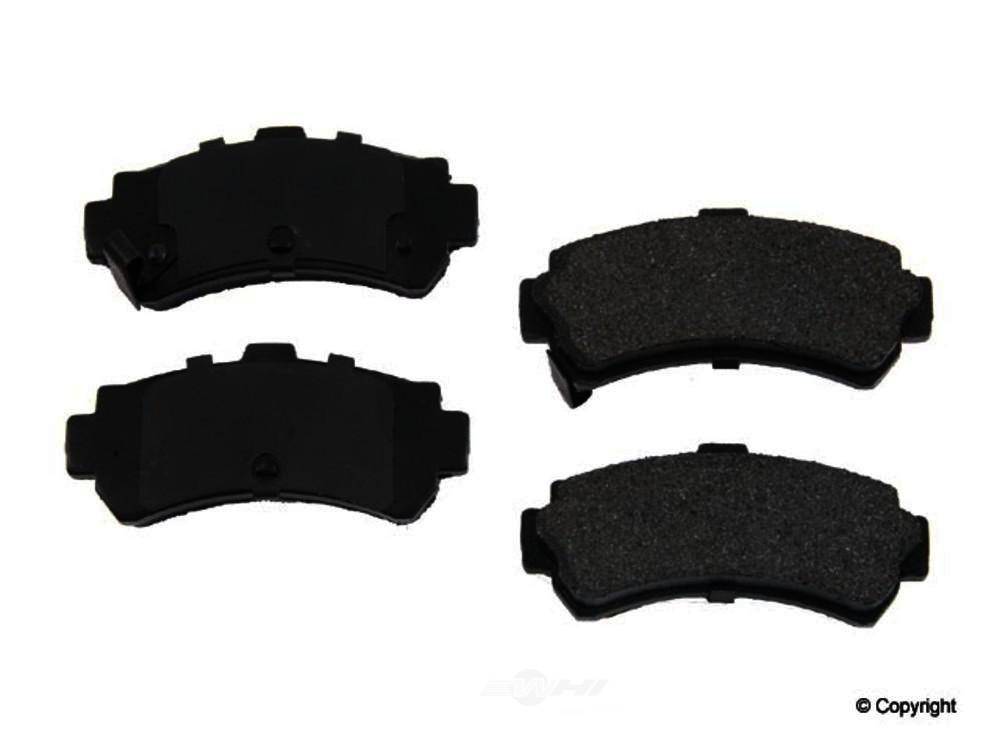 Original -  Performance Semi-Met Disc Brake Pad Set - WDX 520 06690 507
