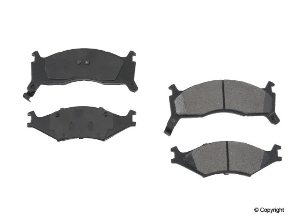 Original - Original Performance Ceramic Disc Brake Pad Set (Front) - WDX 520 06700 508