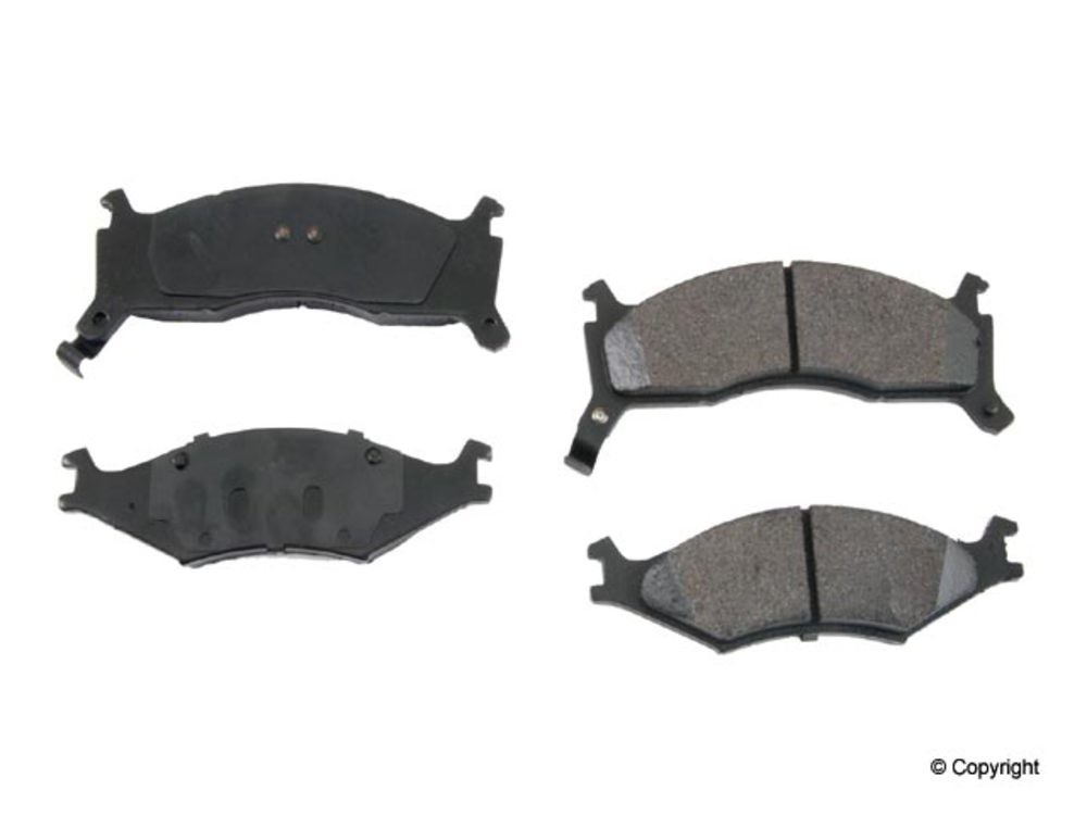 Original - Original Performance Semi-Met Disc Brake Pad Set (Front) - WDX 520 06700 507