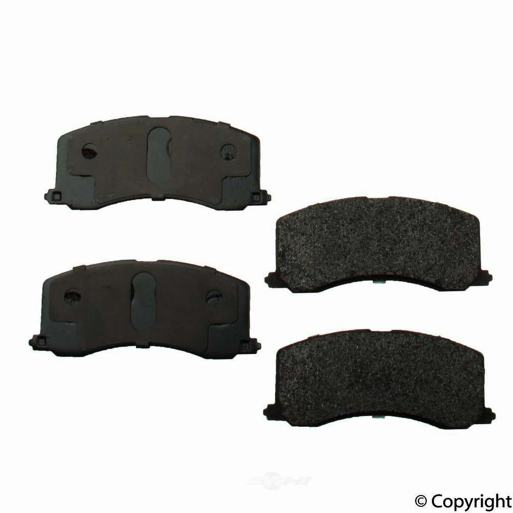 Original -  Performance Semi-Met Disc Brake Pad Set - WDX 520 06770 507