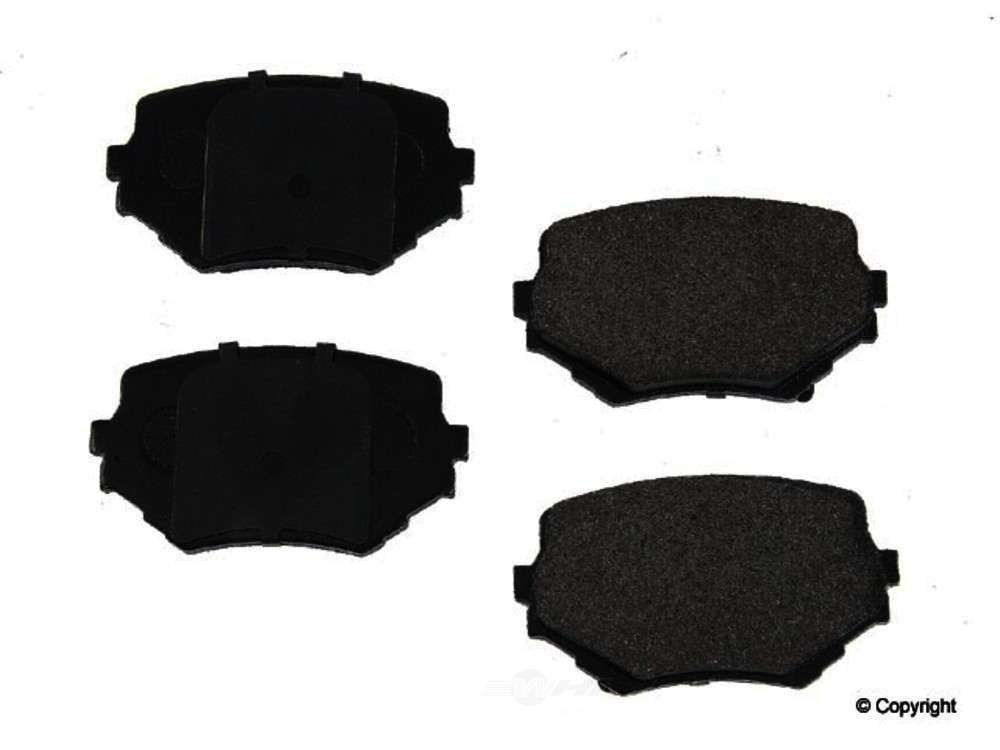 Original -  Performance Semi-Met Disc Brake Pad Set - WDX 520 06800 507
