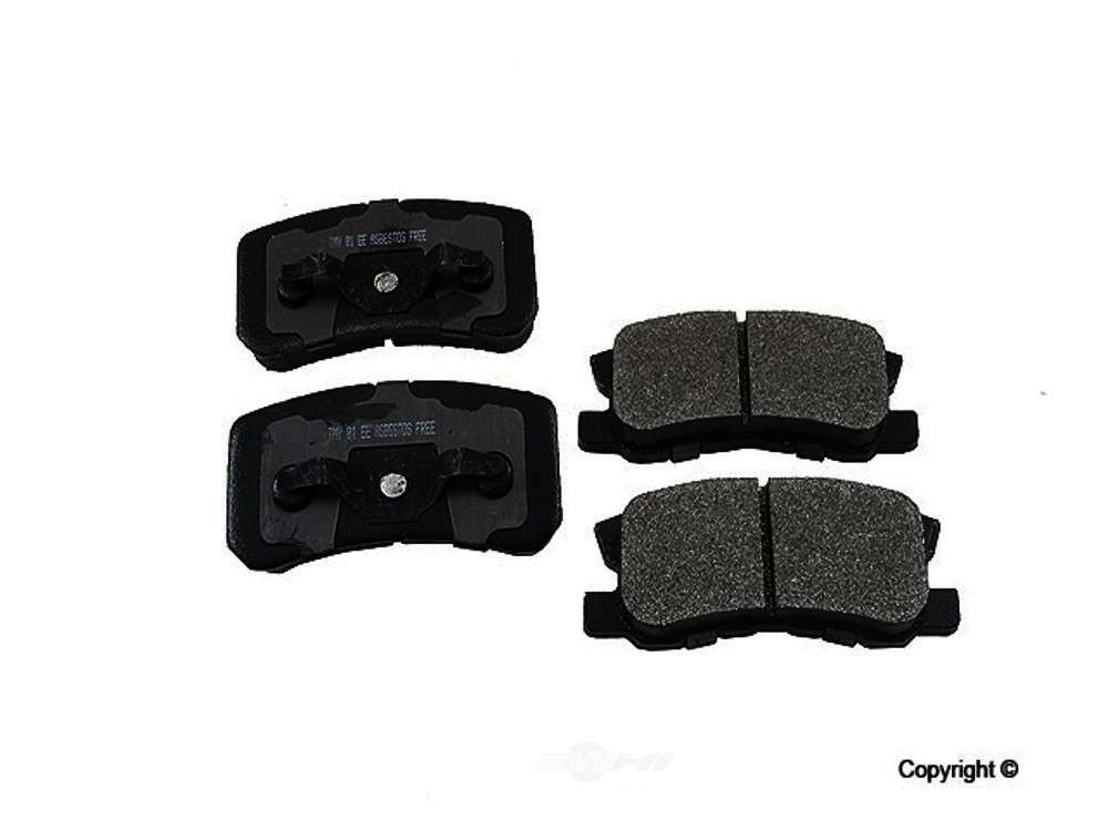 Meyle -  Semi Metallic Disc Brake Pad Set - WDX 520 08680 503