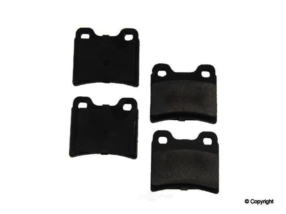 Original -  Performance Ceramic Disc Brake Pad Set - WDX 520 06930 508