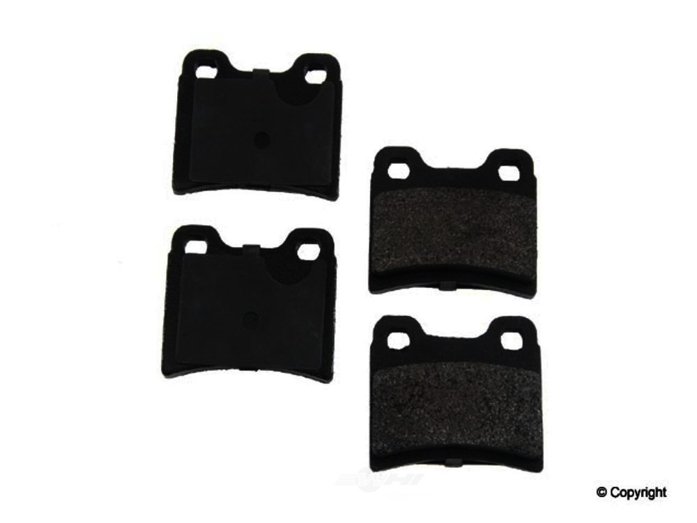 Original -  Performance Semi-Met Disc Brake Pad Set - WDX 520 06930 507