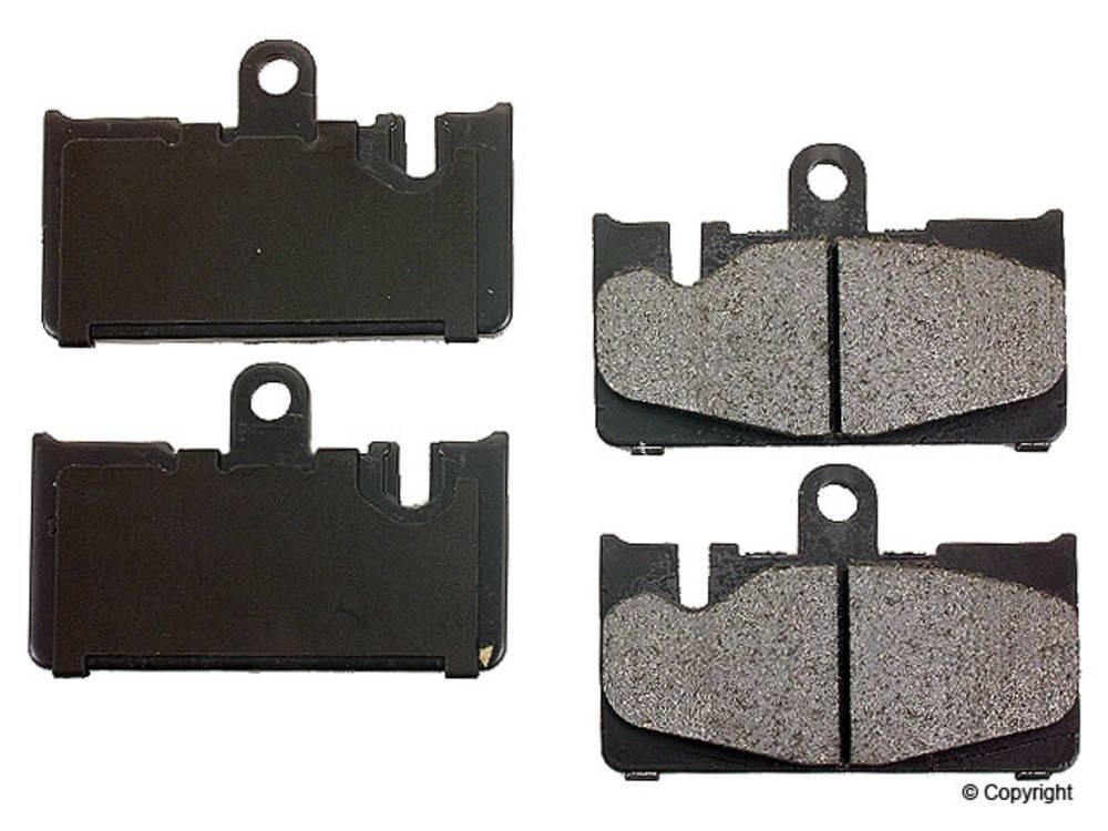 Advics -  Disc Brake Pad Set (Rear) - IMM AD0871