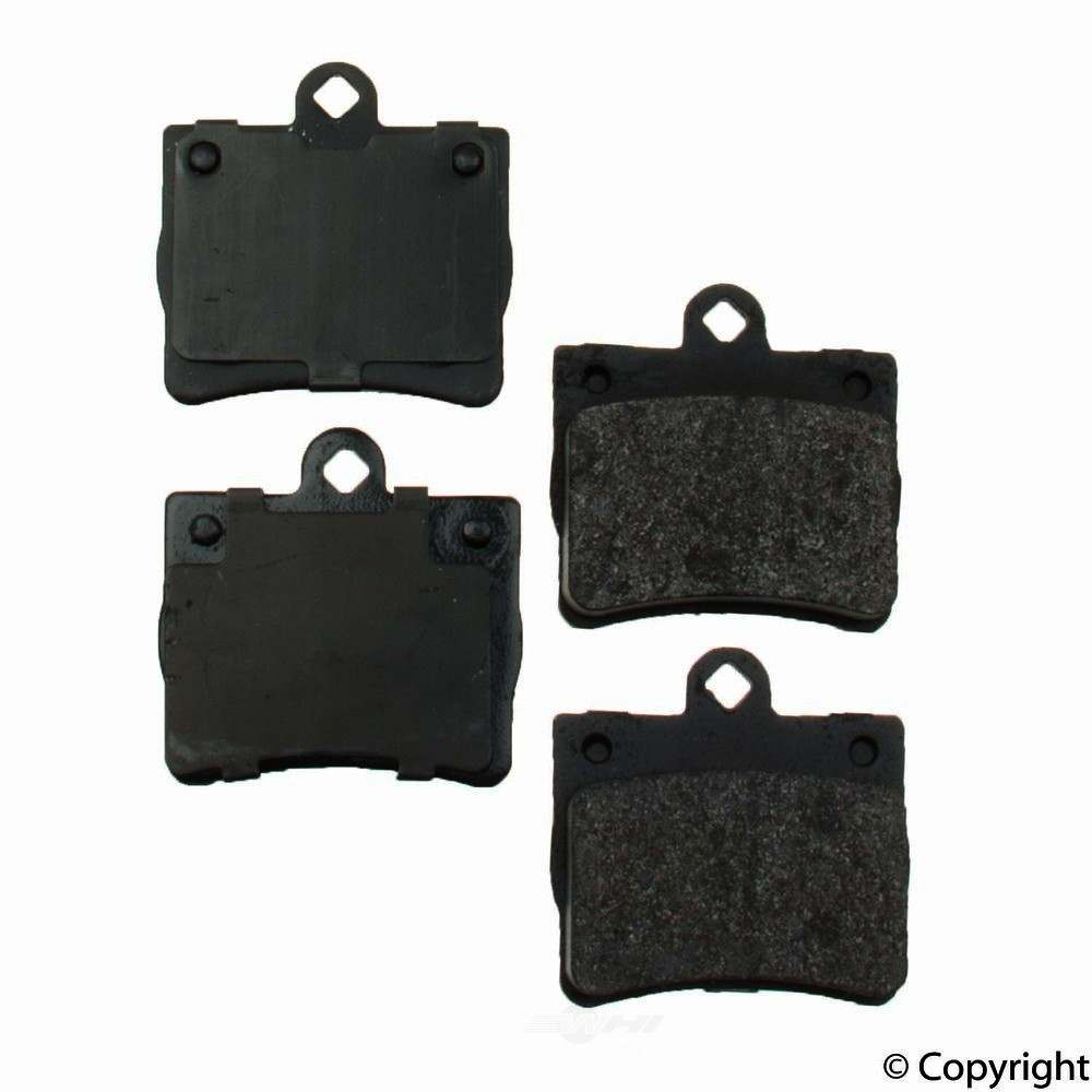 Original -  Performance Semi-Met Disc Brake Pad Set - WDX 520 07390 507