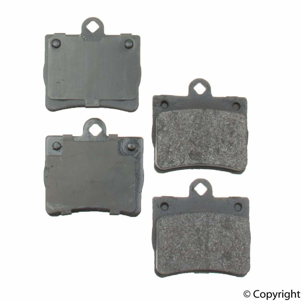 Original -  Performance Semi-Met Disc Brake Pad Set (Rear) - WDX 520 07390 507